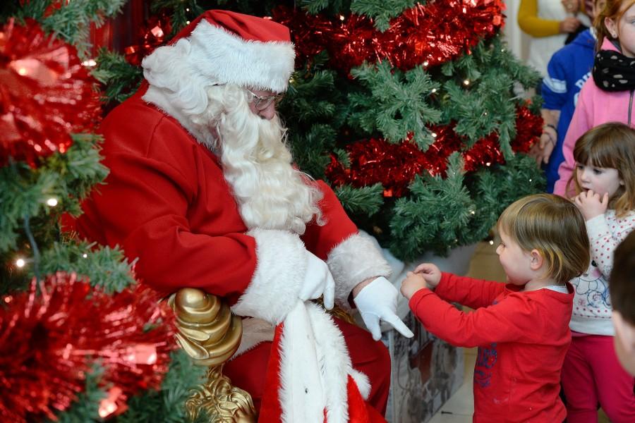 Santa arrives this weekend at Manor West