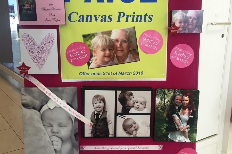 Win a photo canvas with Sam McCauleys