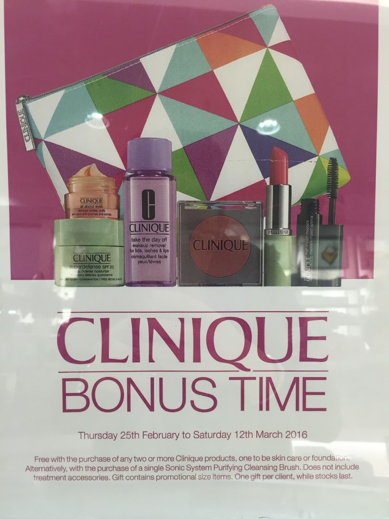 Clinique poster