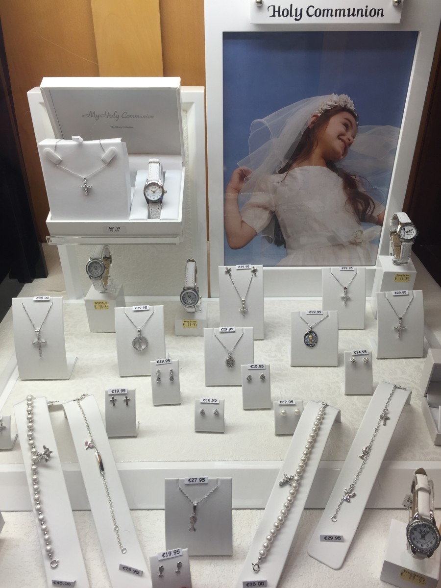 Fabulous Communion & Confirmation gift at Brian deStaics'