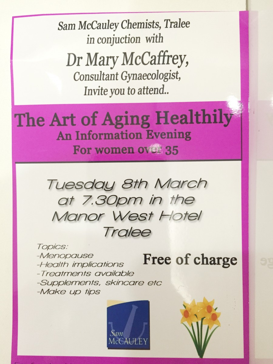 Women's Heath- An Information Evening