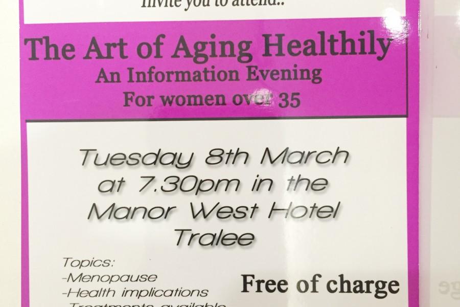 Women's Heath- An Information Evening