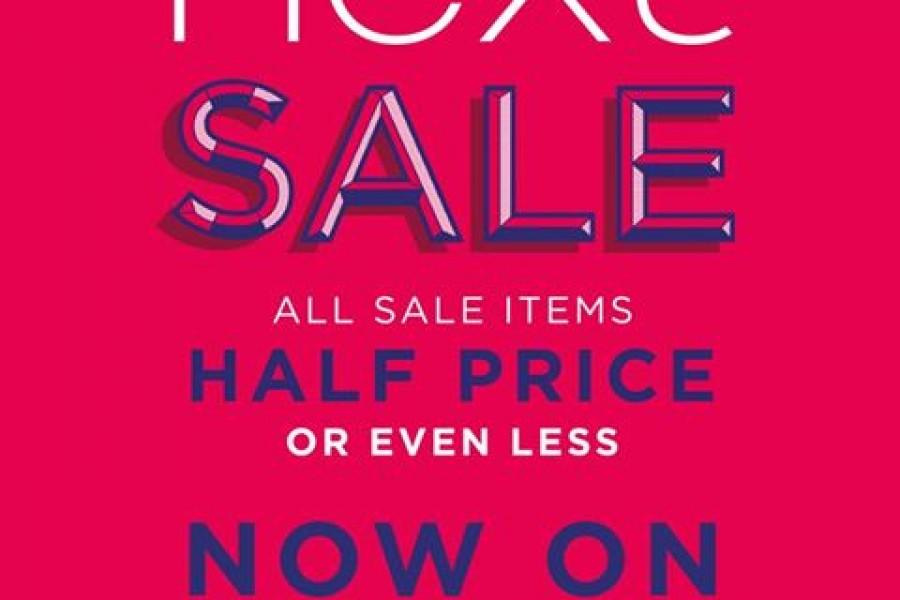 Next Half Price Sale Now On