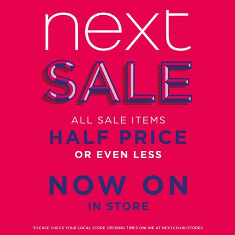 Next Sale