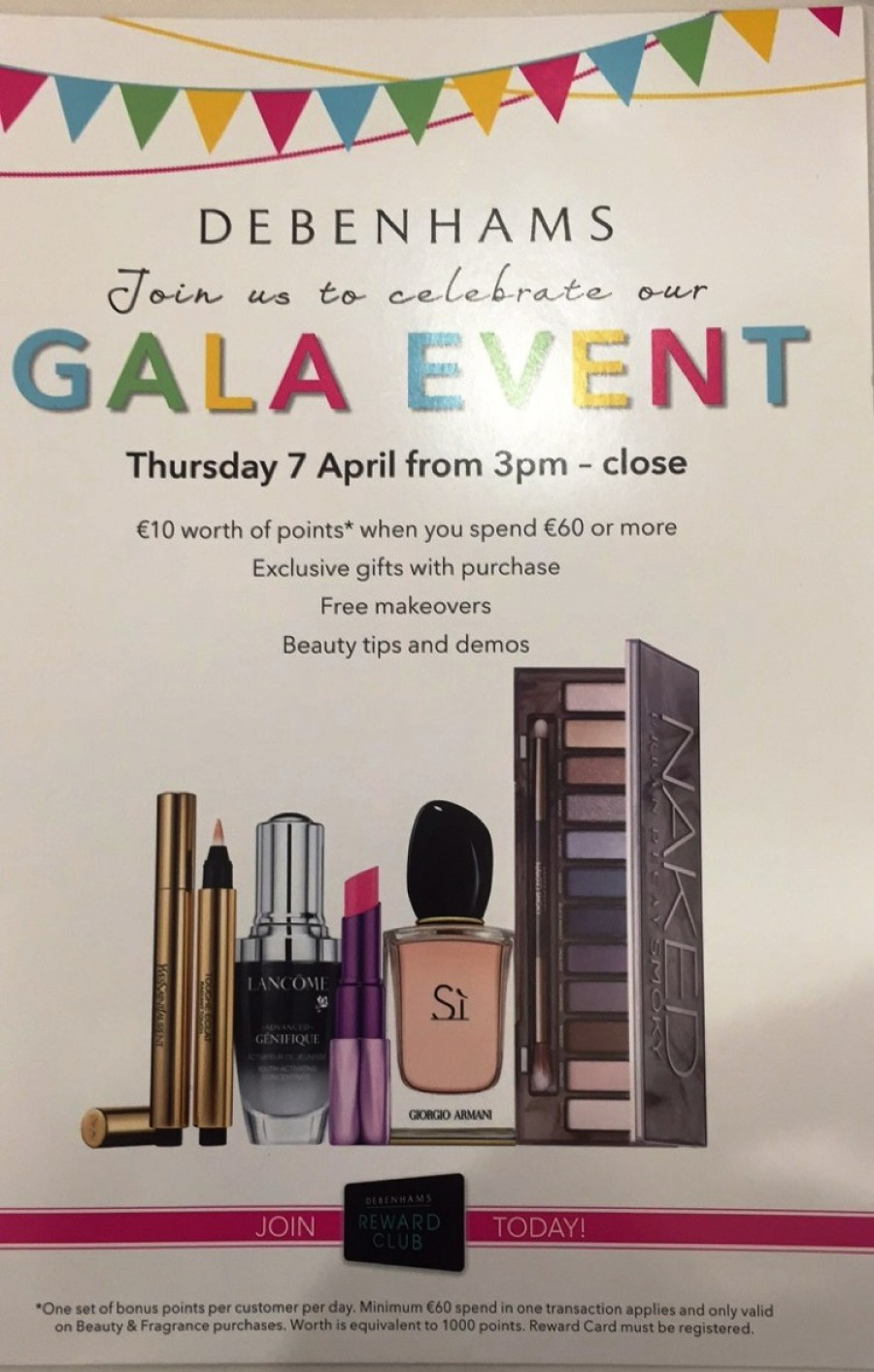 Debenhams Beauty Gala Event Returns