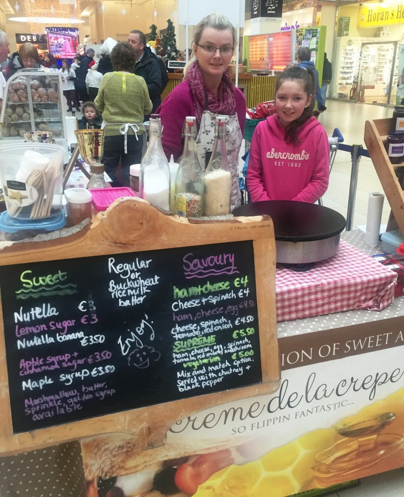 Food Fair Crepe stand