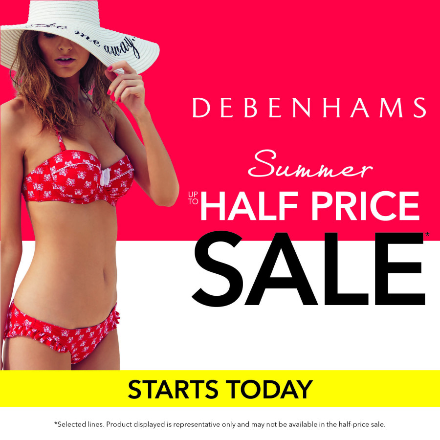 Debenhams SALE <3
