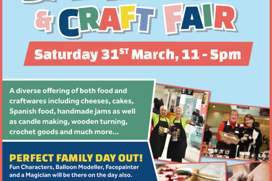 Manor West Spring Food & Craft Fair