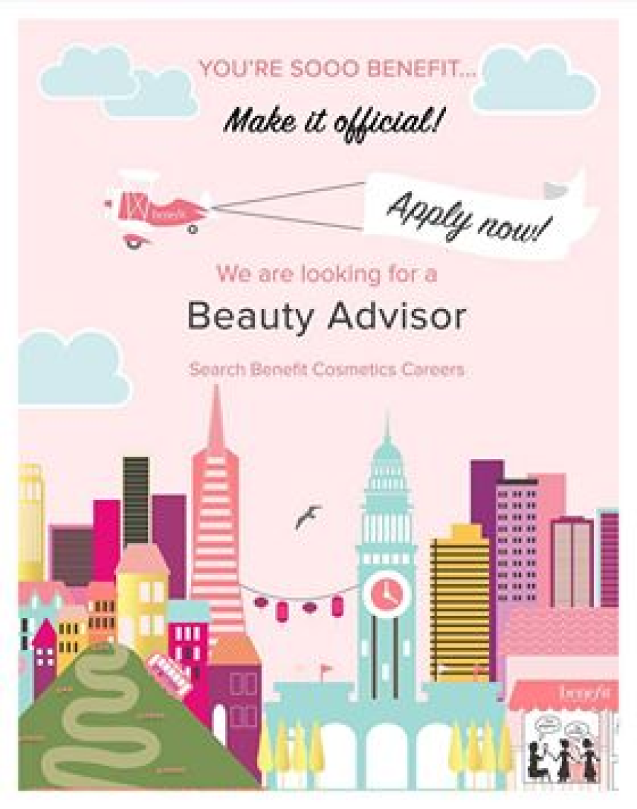 🧡🙌 Benefit are hiring🧡🙌