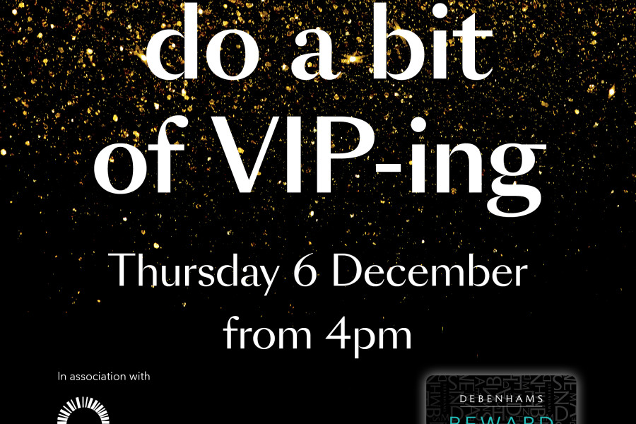 VIP Christmas Night in Debenhams