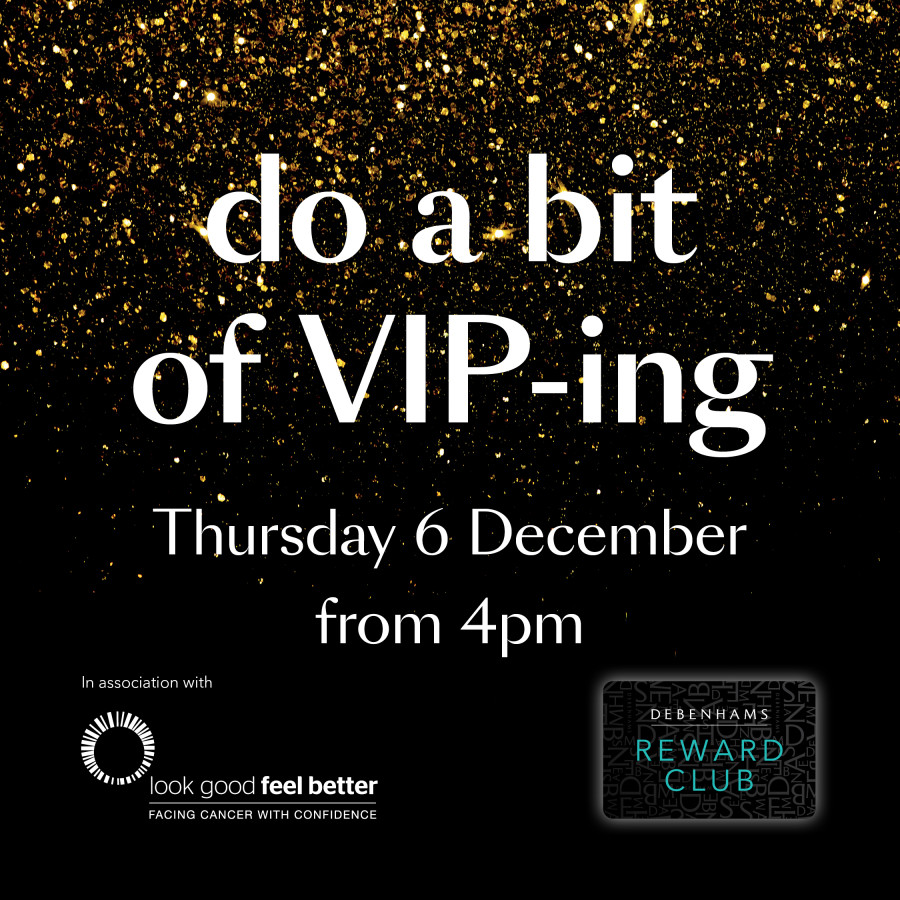 VIP Christmas Night in Debenhams