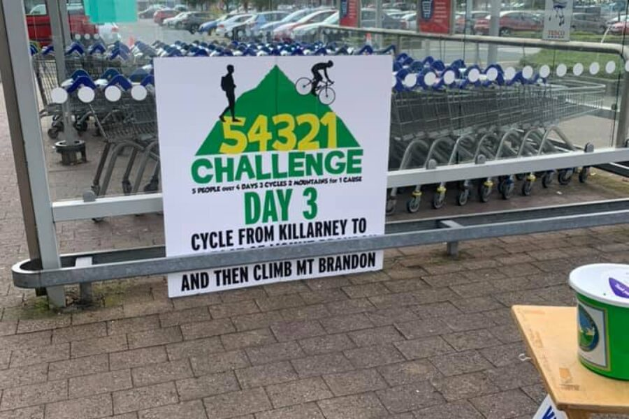 Enable Ireland #54321 Challenge