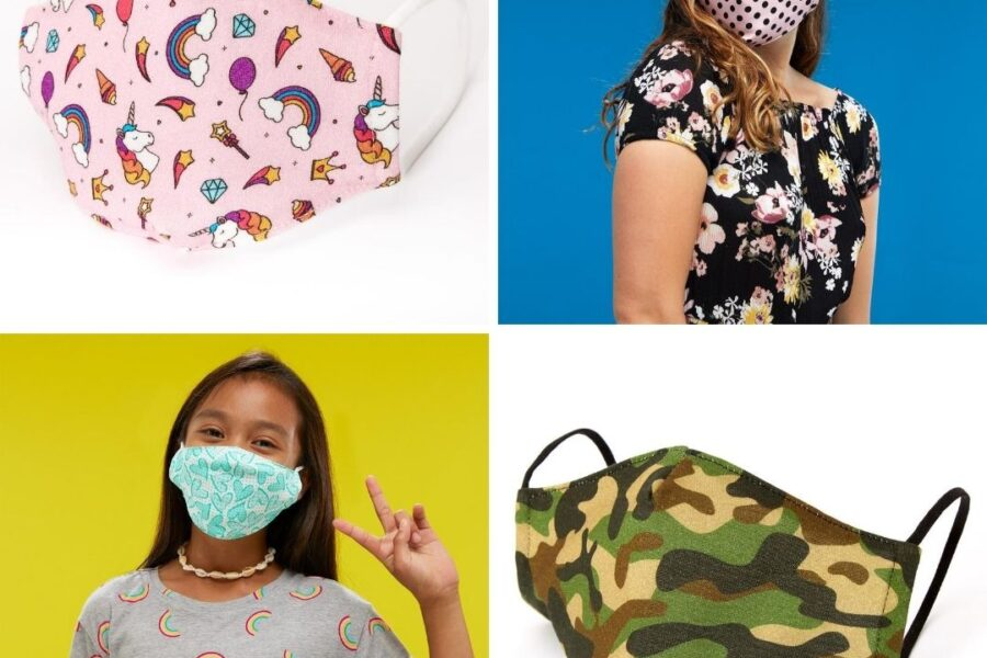 Claire's Accessories Face Masks
