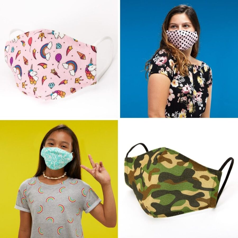 Claire's Accessories Face Masks