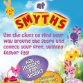 Easter Egg Hunt on Saturday March 30th at Smyths!