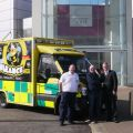 Manor West Retail Park announces the Bumbleance as the Manor West Charity of the Year 2014