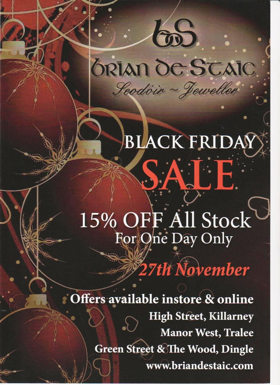 Black Friday madness at Brian de Staic