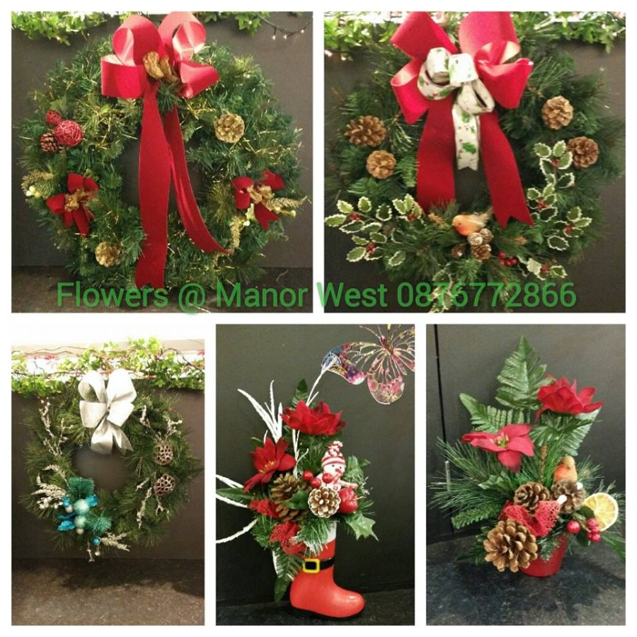 Festive Flowers at Manor West