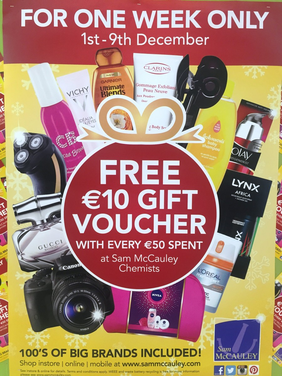 Super Savings at Sam McCauleys