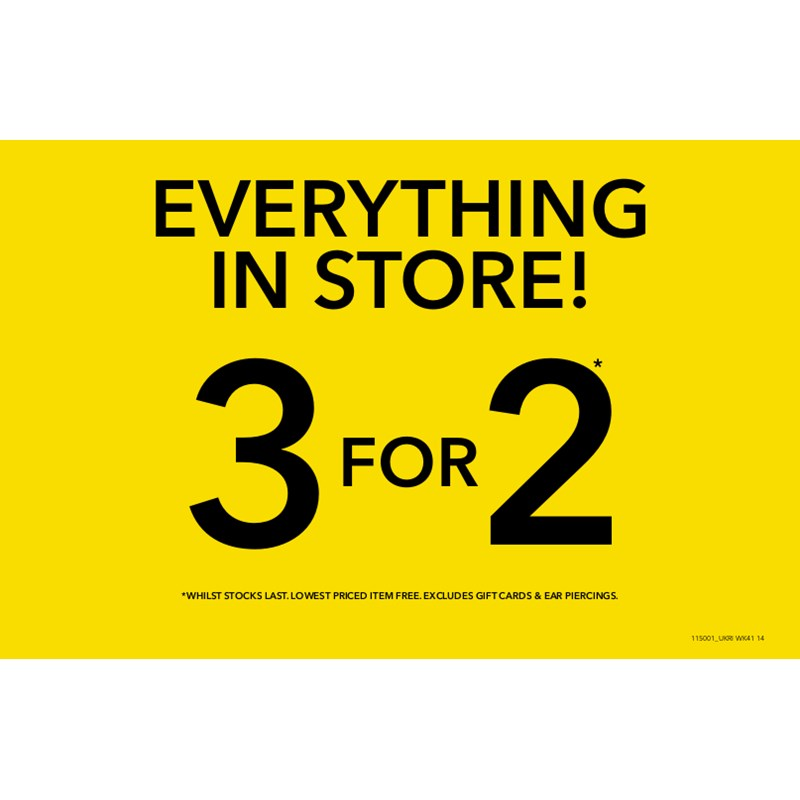 Claires Accessories offer