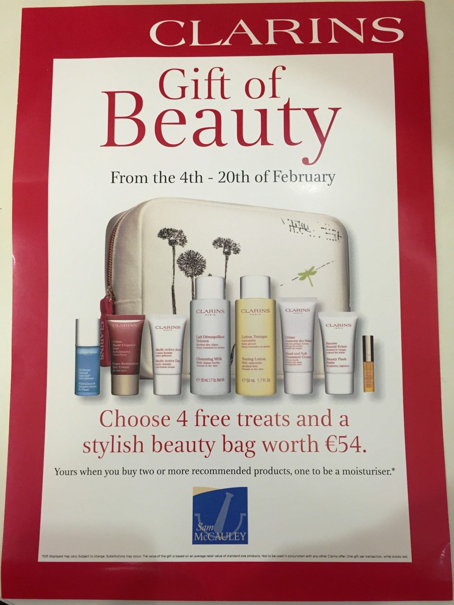 Competition time with Clarins