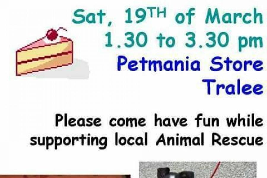 Cake Sale Fundraiser at Petmania