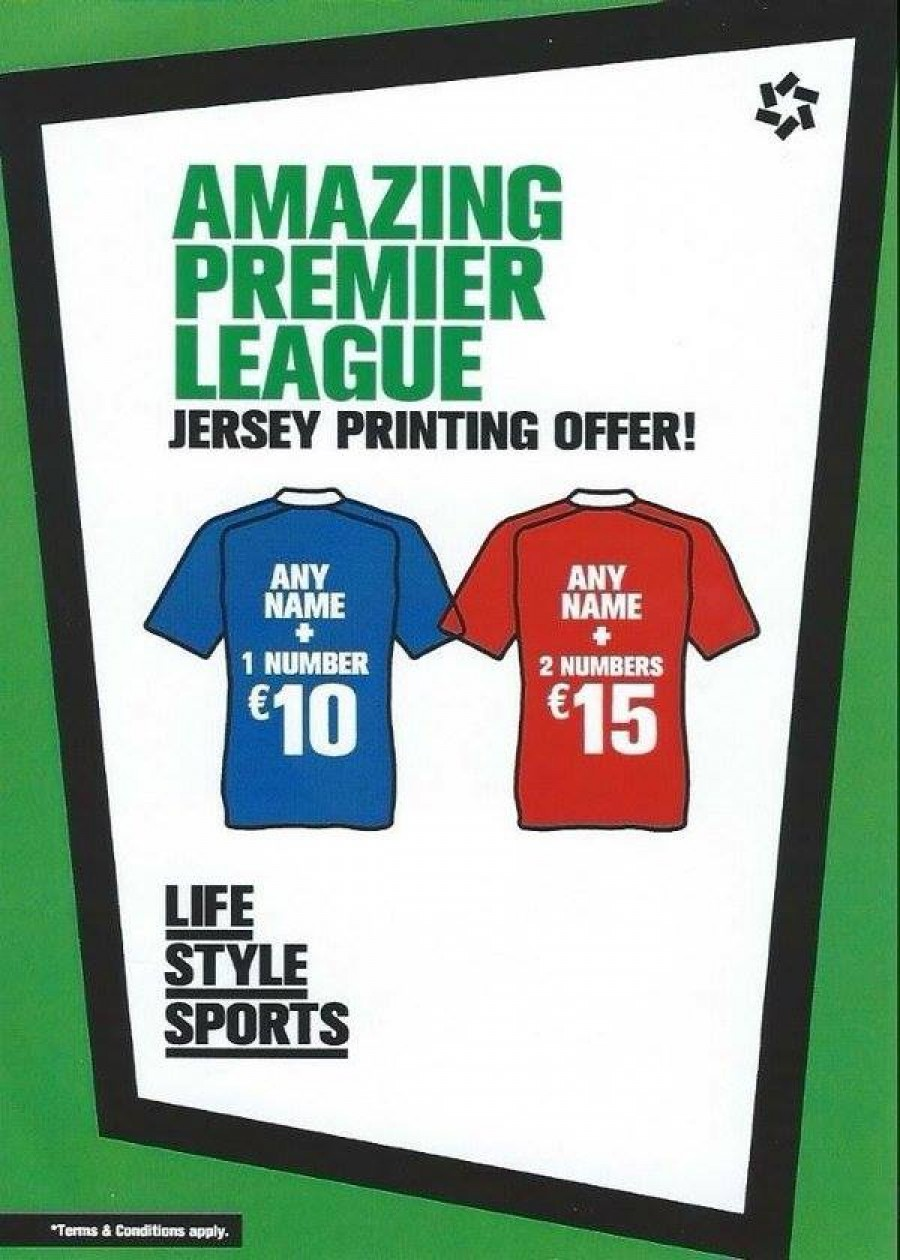New Season jerseys now in stock at Lifestyle Sports