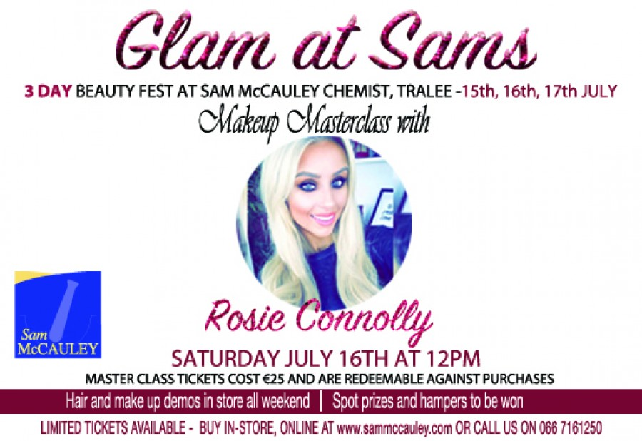 Top Beauty & Fashion Blogger coming to Sam McCauleys