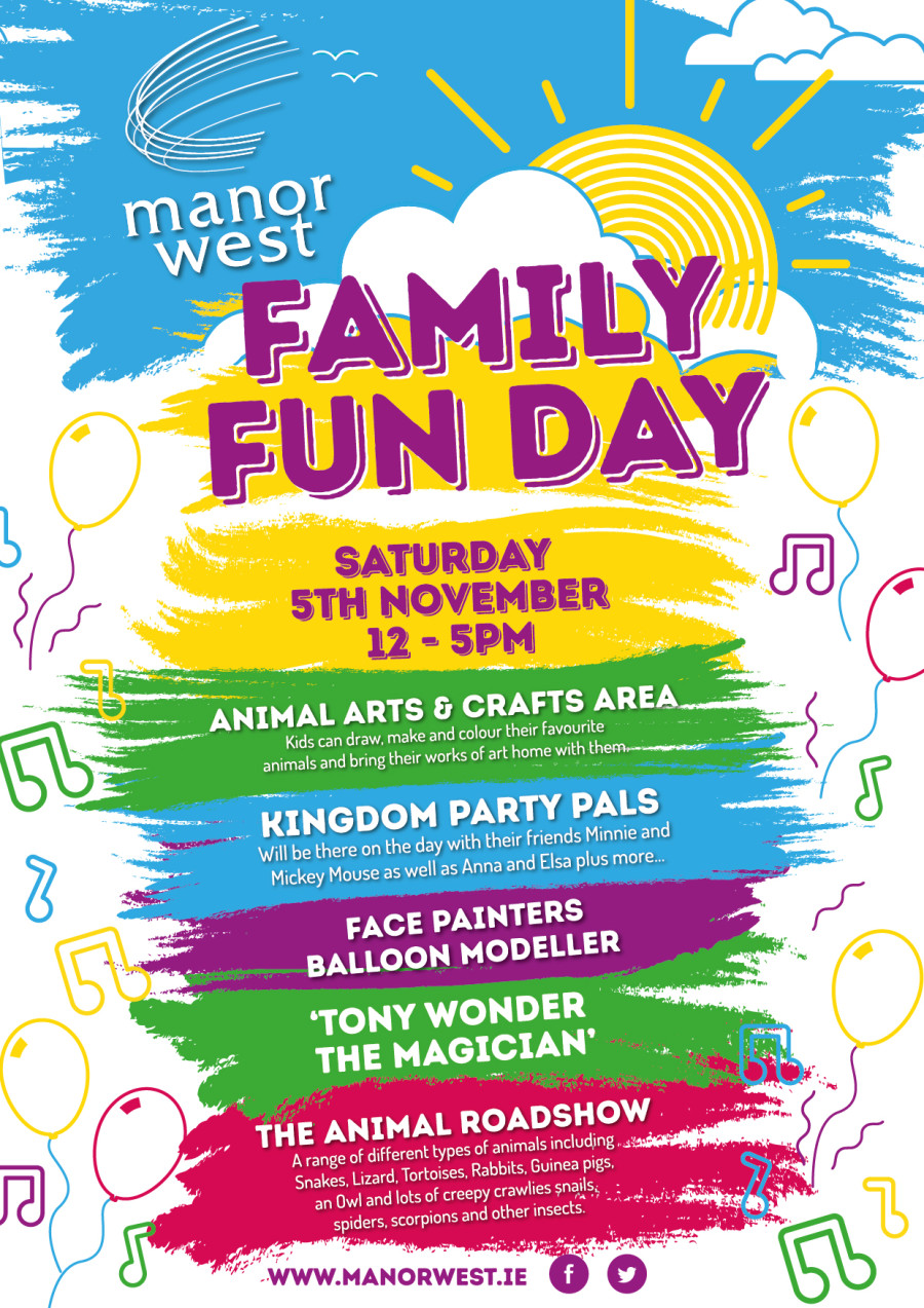 Fun For All The Family At Manor West