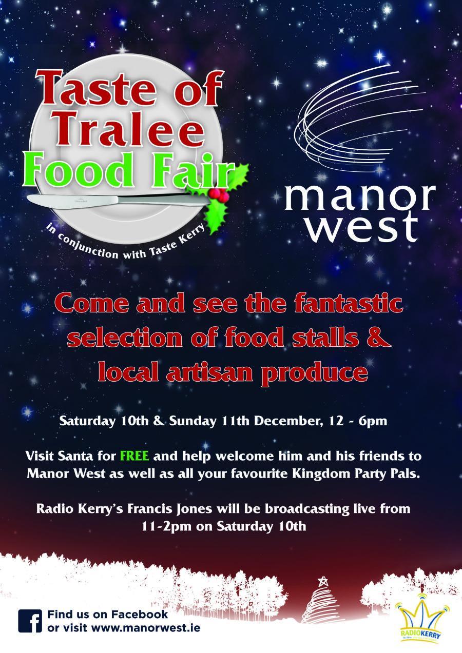 Festive Taste Kerry Food Fair returns to Manor West