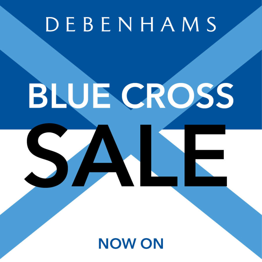 Debenhams Blue Cross sale now on!!