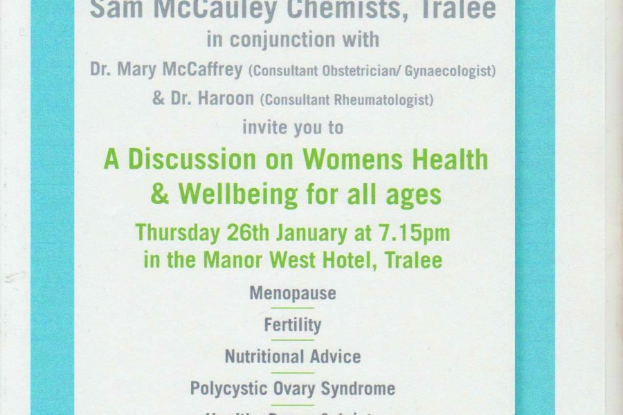 A Discussion on Womens Health & Wellbeing