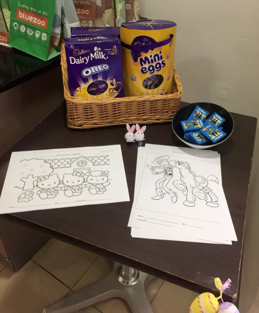 Easter Colouring Competition at Debenhams