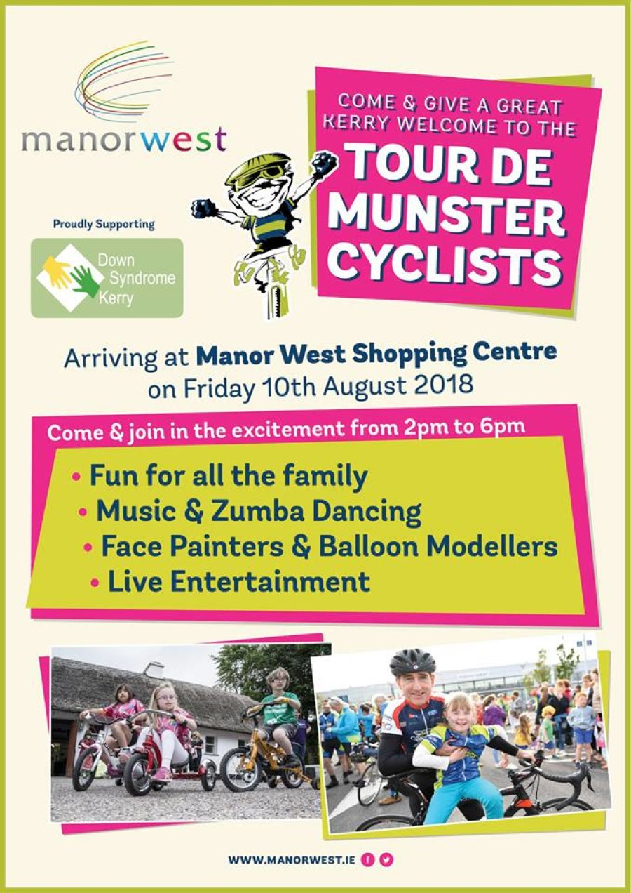 Manor West Welcomes the Tour De Munster