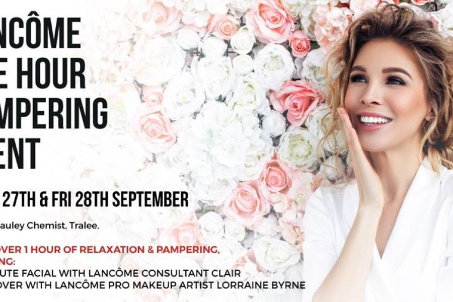 Lancome Pampering Event