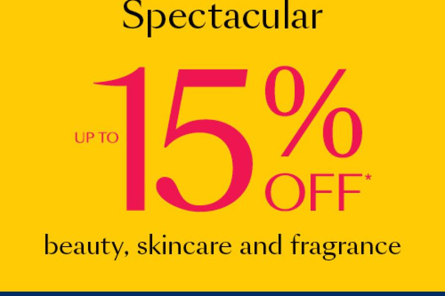 15% Off Cosmetics in Debenhams!
