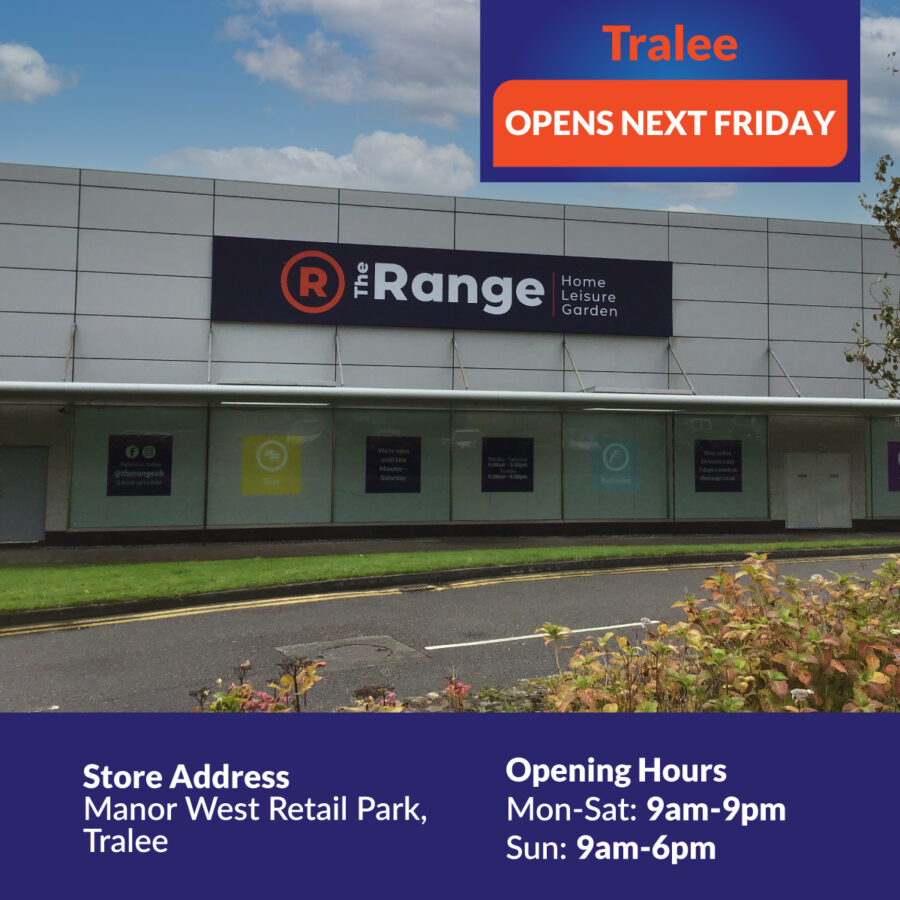 Countdown to Opening of The Range Tralee Next Friday